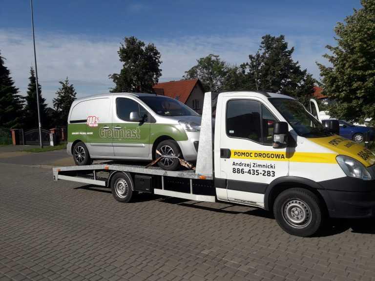 Całodobowa autolaweta – pomoc drogowa